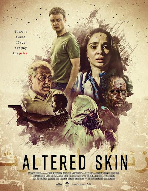 Altered Skin: poster