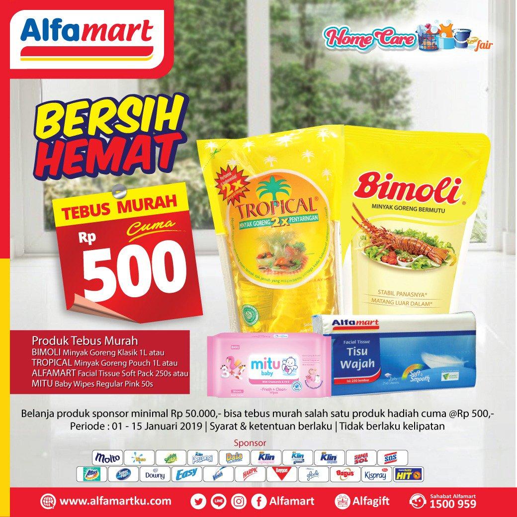 #Alfamart - Promo Tebus Murah Minyak Goreng Tropical & Bimoli Cuma 500n