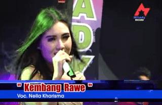 Lirik Lagu Kembang Rawe - Nella Kharisma