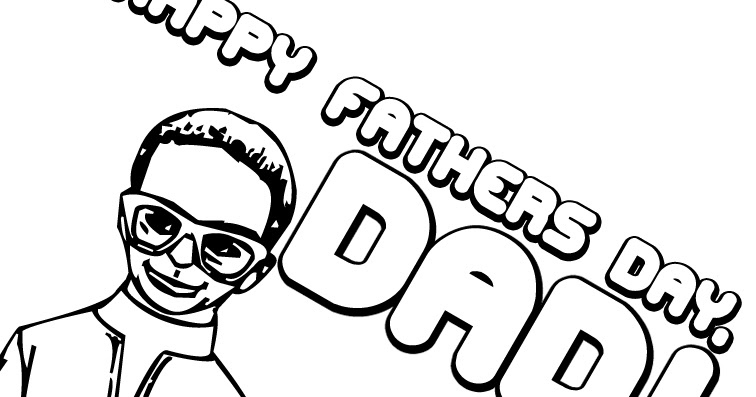 Happy Father's Day Coloring Pages : Let's Celebrate!