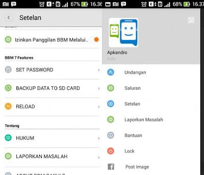 BBM MIUI 7 Mod