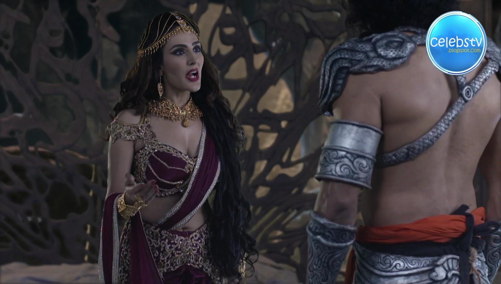Sudeepa Singh Aka Rani Pari Very Hot Sexy Deep Cleavage -1282