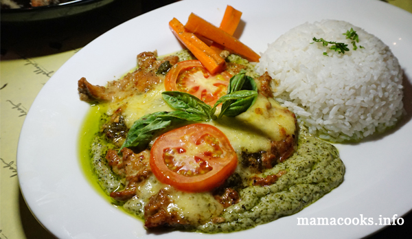 Yellow Leaf cuisine - Bacolod restaurant - creamy pesto chicken