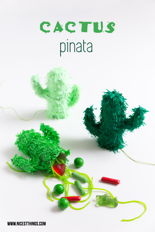 Cactus Pinata DIY