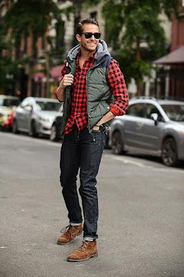 jaket yang bagus untuk pria kurus