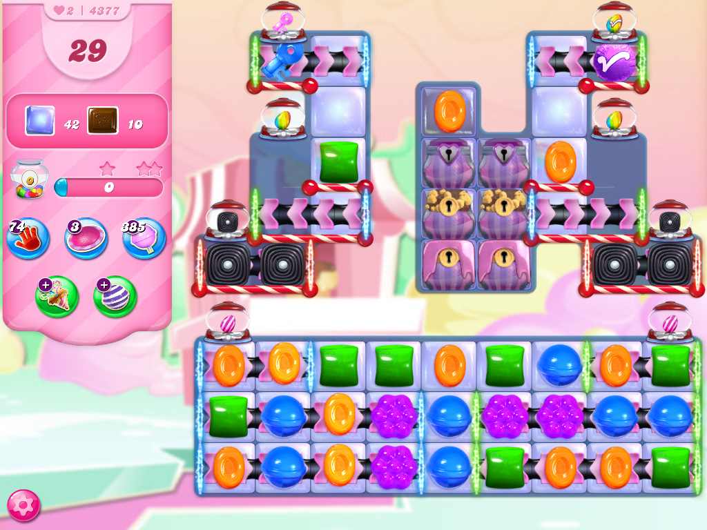 Candy Crush Saga level 4377