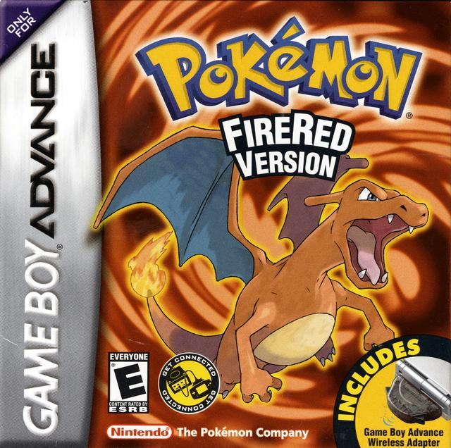 Pokémon rojo fuego - Español - Portada