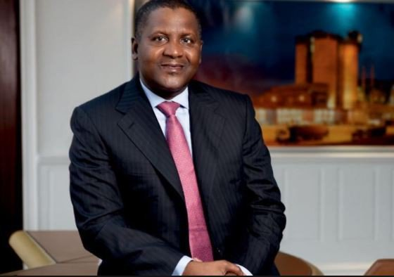 Forbes names Dangote Africa's richest man for the seventh year in  a row