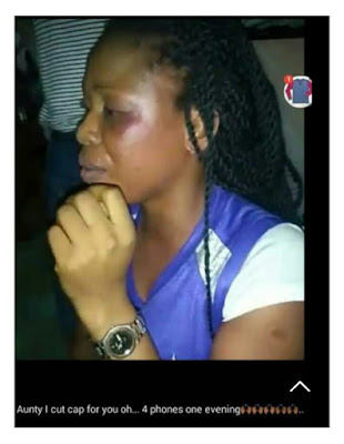 Female Thief Nabbed After Stealing 4 Android Phones At Uyo University. Photo