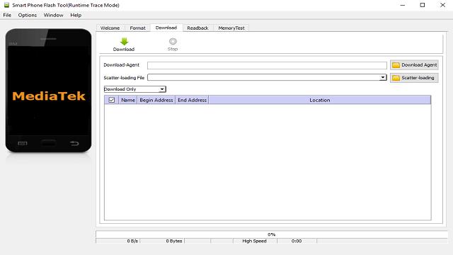Descargar SP Flash Tool v5.1548