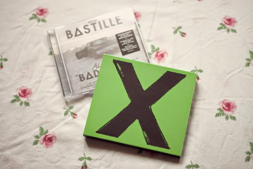 Bastille and Ed Sheeran Albums