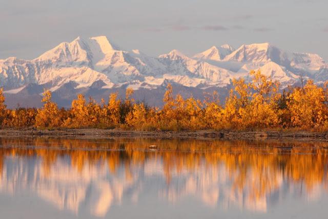 lago montagne alaska
