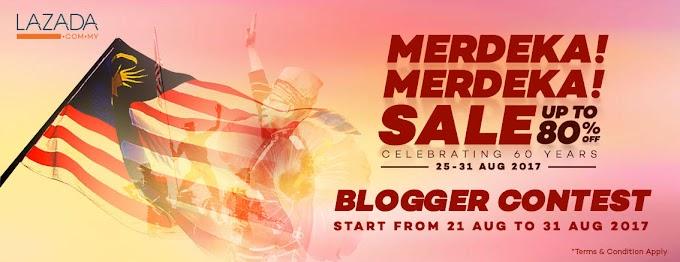 Merdeka!Merdeka! Lazada Blogger Contest