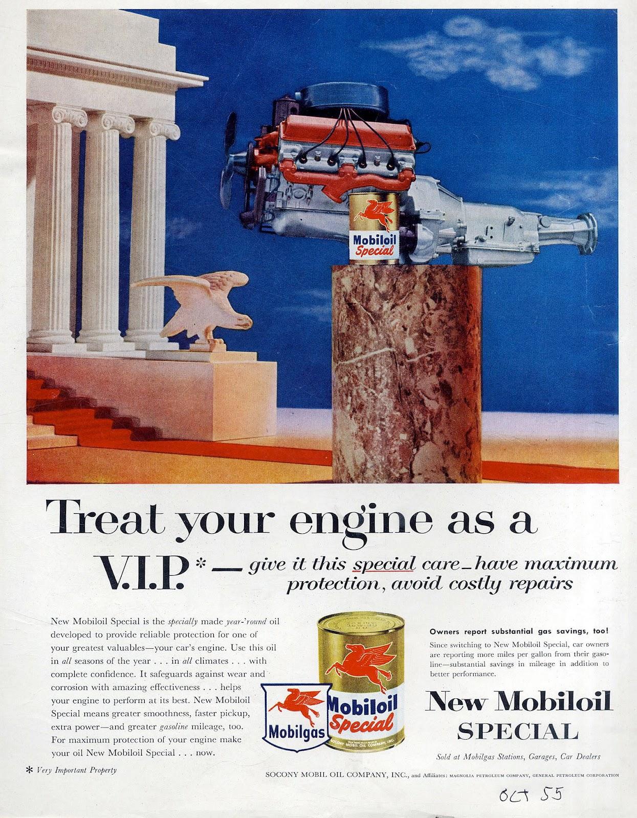 1940-49 Original 1941 Print Ad Mobilgas Mobiloil Bears Hibernation Dealer 2 Page Art Merchandise & Memorabilia