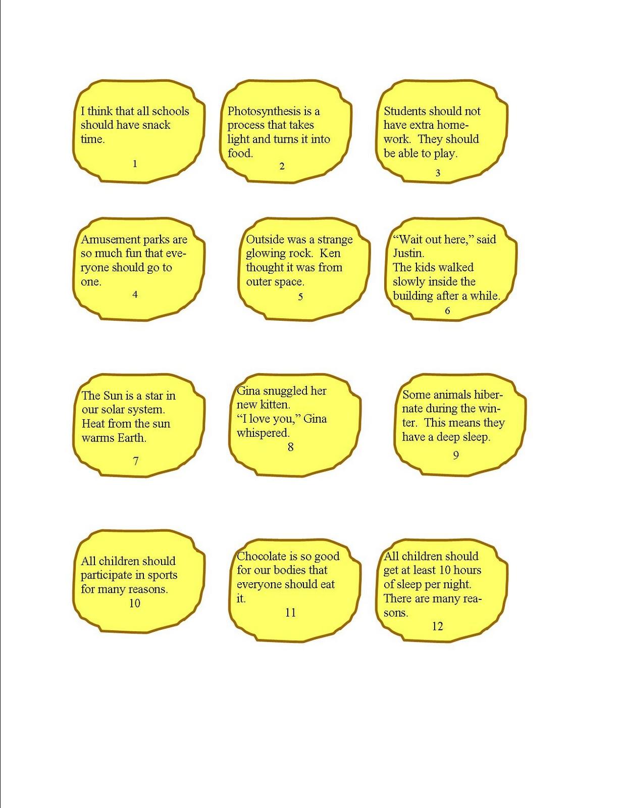 Literacy Math Ideas Author 39 S Purpose Snacks