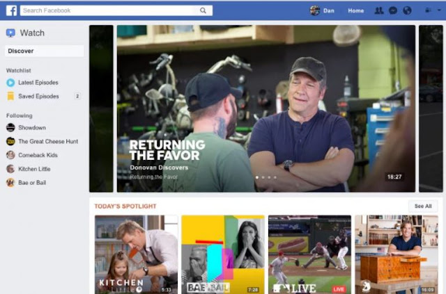 Facebook Set To Launch Its Own Youtube Like Watch App
