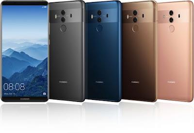 Huawei Mate 10  كشف النقاب  عن هاتف (مايت 10)