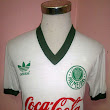 Vintage Palmeiras football shirt 1990 - 1991 Away by Adidas