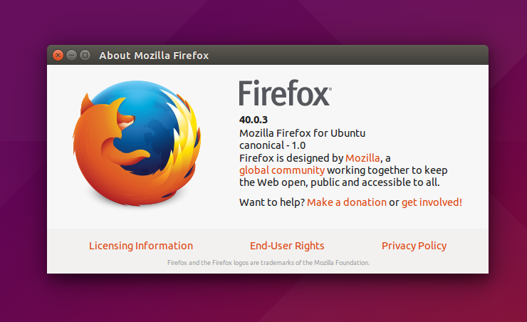 Install and Update to Mozilla Firefox 40 0 3 on Ubuntu and Linux
