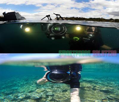 Foto dalam air dengan action cam
