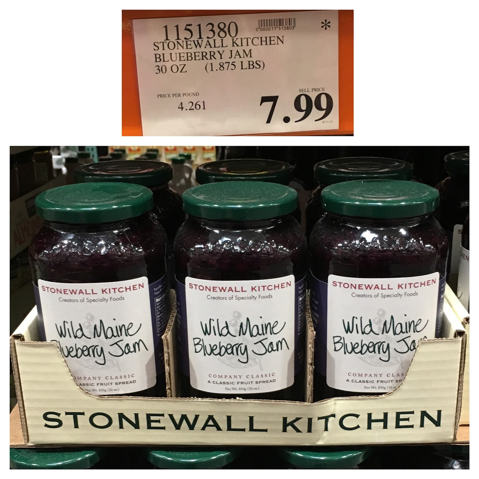 Stonewall Kitchen Jam Travel Trailers With Rear Wild Maine Blueberry Costco Dandk