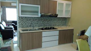 Kitchen set murah model lurus jakarta barat