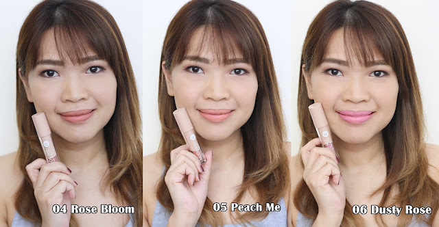 a photo of Nikki Tiu AskMeWhats wearing Cathy Doll Nude Me Liquid Lip Matte Review (ALL 9 Shades)