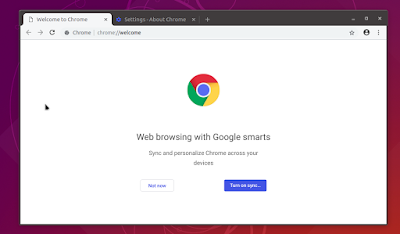 Install Google Chrome 72.x on Ubuntu 18.04, Ubuntu 18.10 / Debian 9 / Linux Mint 19.1 system
