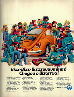 propaganda super fuscão 1600 S - 1974. brazilian advertising cars in the 70. os anos 70. história da década de 70; Brazil in the 70s; propaganda carros anos 70; Oswaldo Hernandez;