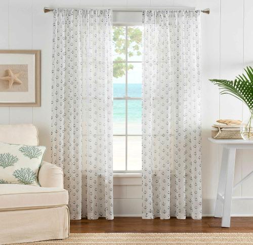 Coastal & Nautical Window Treatments - Coastal Decor Ideas ...