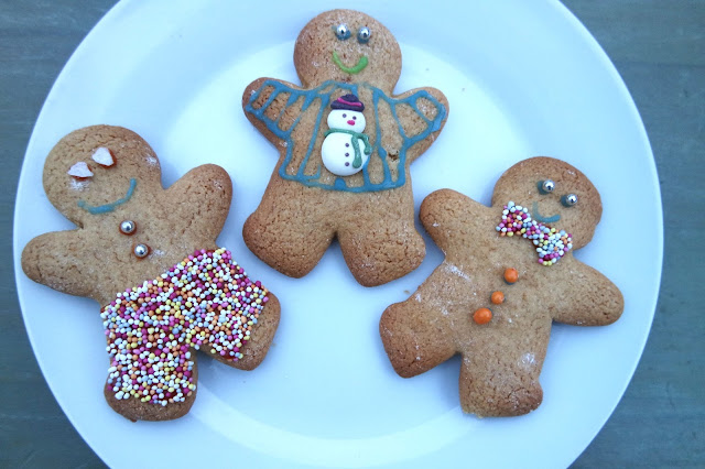 Gingerbread Men in Christmas Jumpers