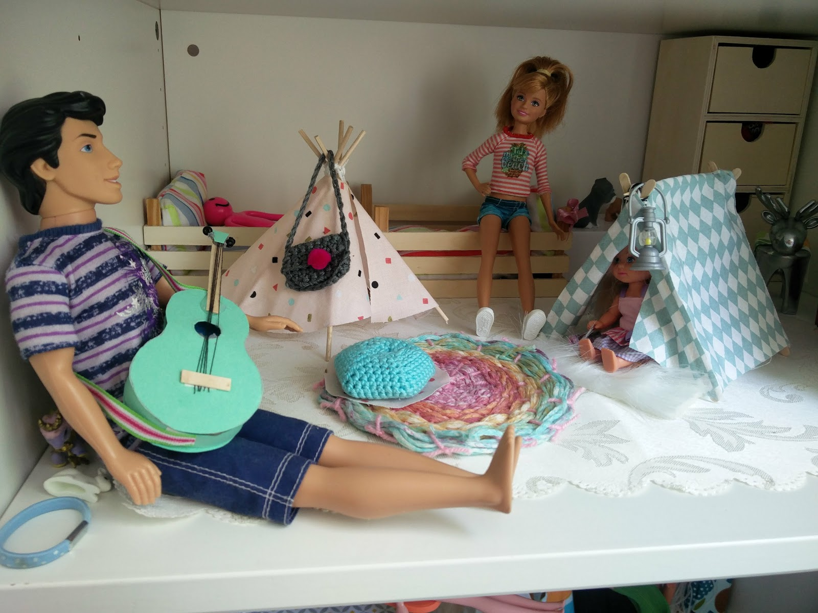 Der bastelblog barbie kinderzimmer - Barbie kinderzimmer ...