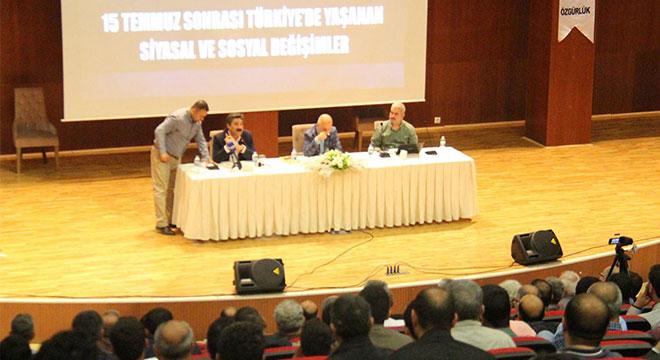 Diyarbakır'da 15 Temmuz Sonrası Yaşanan Siyasal Ve Sosyal Değişimler paneli