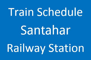 Santahar station train schedule