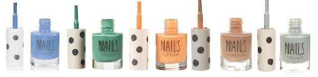 Topshop Nail Polishes