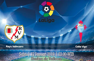 Prediksi Rayo Vallecano vs Celta Vigo 12 Januari 2019