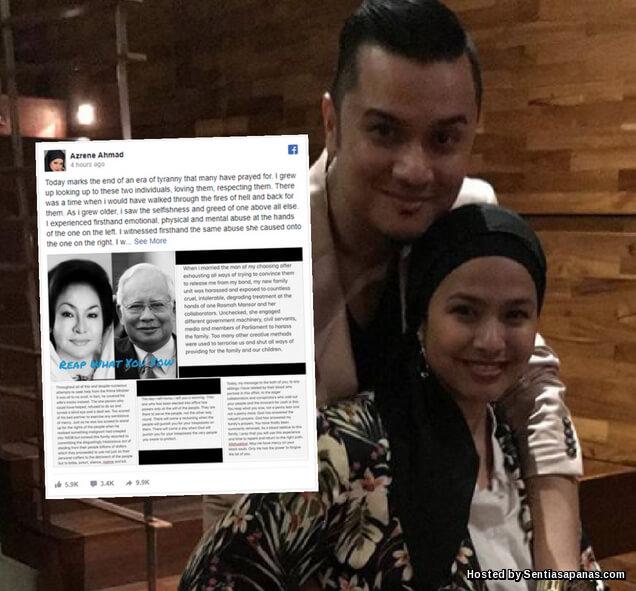 Anak Rosmah Mansor, Azrene Ahmad Dedah Rahsia Cuba 'Dijual' Keluarga