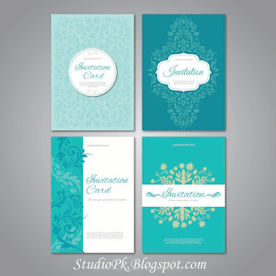 Wedding Invitations Card Design Psd