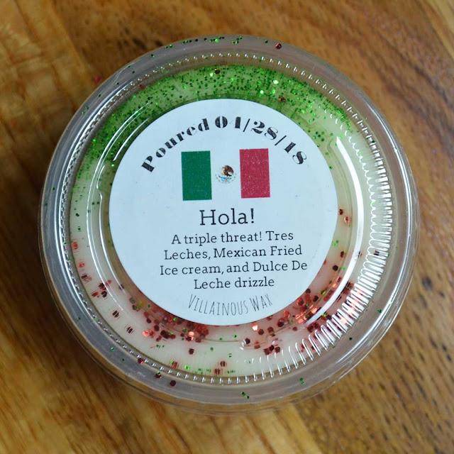 tres leches mexican fried ice cream dulce de leche wax melt