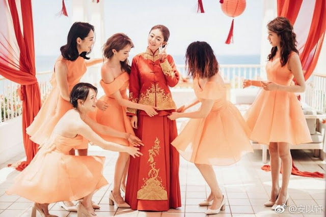 Ady An Wedding Chinese Dress