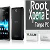 Cara Root Xperia E Tanpa PC