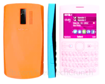 Nokia Asha 205 cool colors