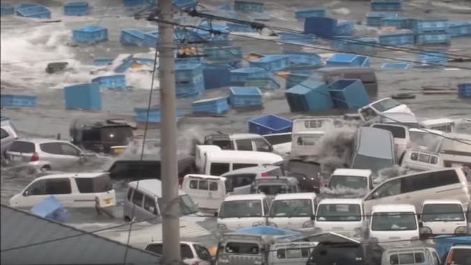 penyebab terjadinya tsunami
