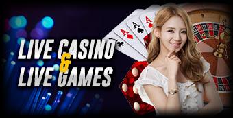 Livecasino , Livegames , Slots
