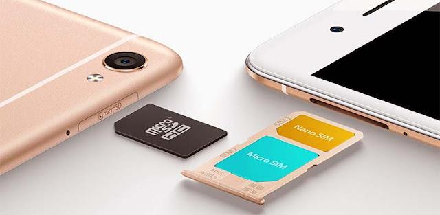 Harga Vivo Y55, Desain Premium Dual SIM Card