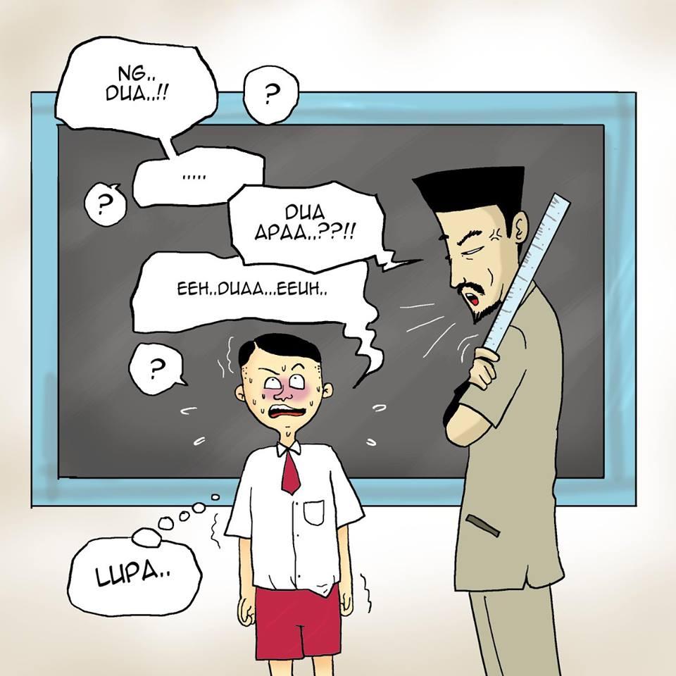 Komik Lucu Penghina Pancasila Zaman Dahulu Kala Ayo Ketawa