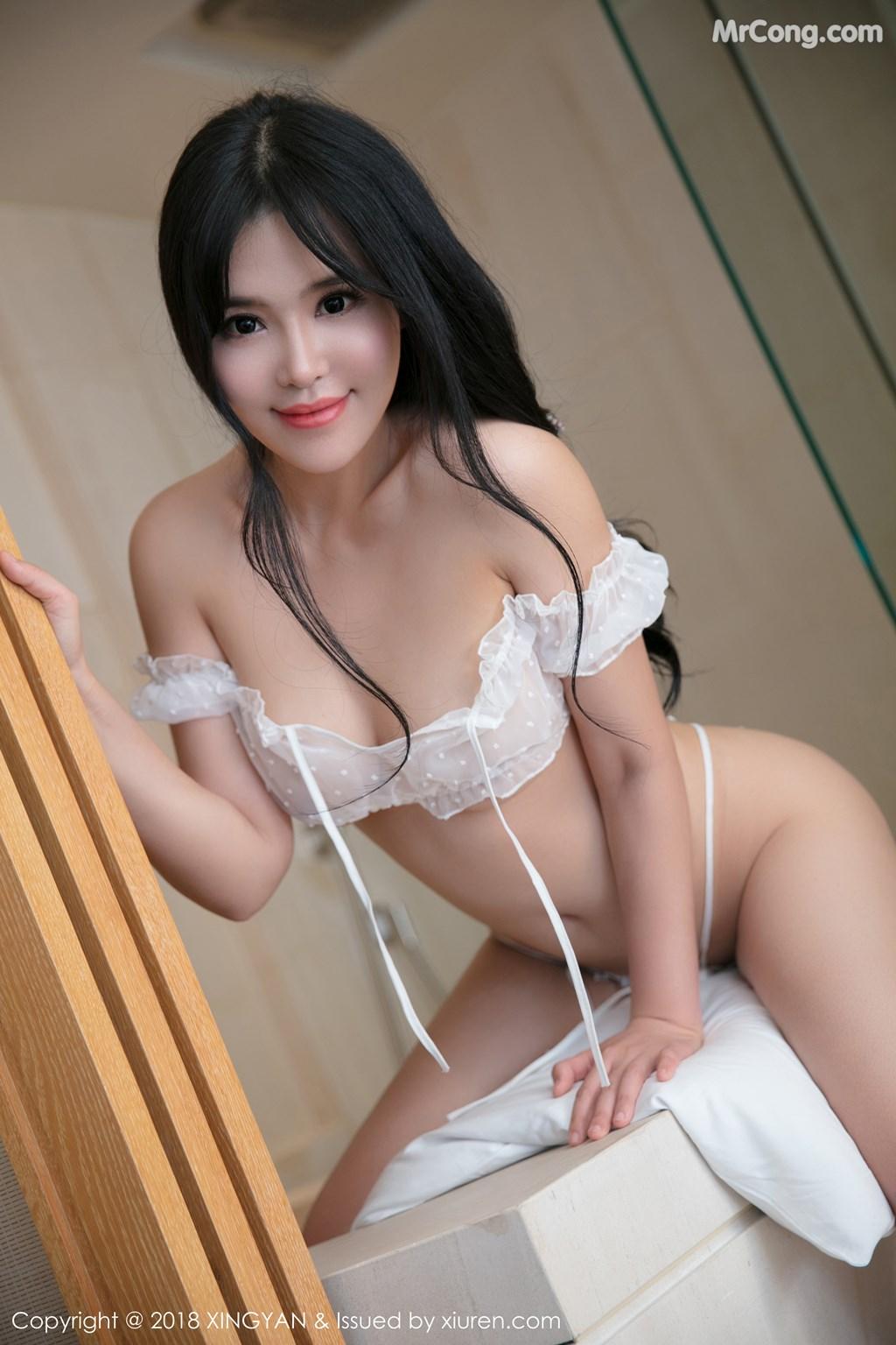 Image XingYan-Vol.011-Liu-Yu-Er-MrCong.com-010 in post XingYan Vol.011: Người mẫu Liu Yu Er (刘钰儿) (49 ảnh)