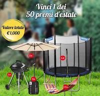 Logo Songmics Italia ''Mega Giveaway Estate'': vinci gratis 50 esclusivi premi