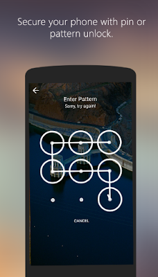 Picturesque App Pattern Lock