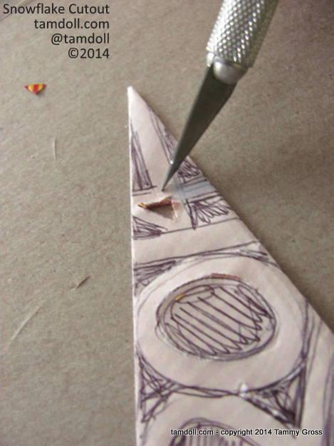 ragged cuts indicate a dull blade